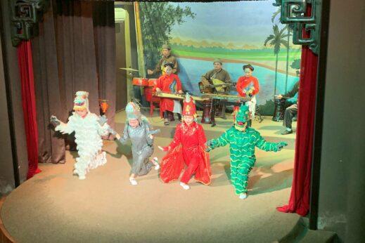 Live theatre, Hoi An, Vietnam