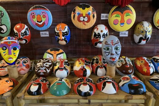 Traditional masks in Hoi An, Vietnam (2)