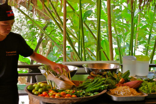 Tamarind restaurant cookery course