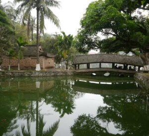 Tranquility of the Temple Lake