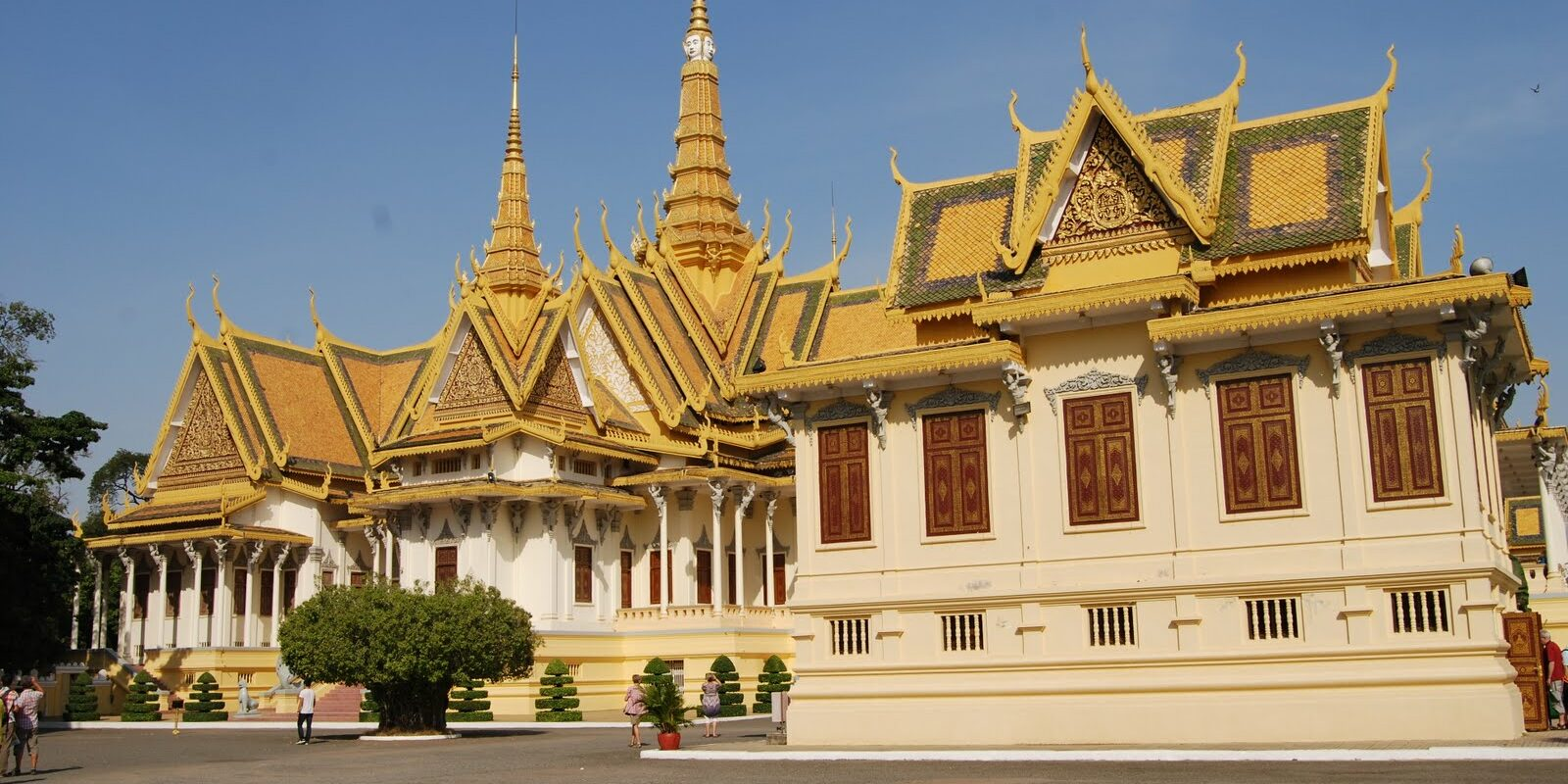 Royal Palace grounds, Phnom Penh