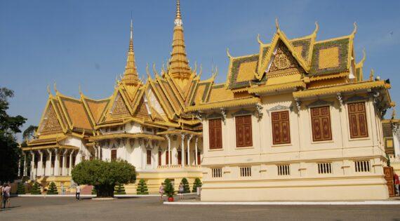 Royal Palace grounds, Phnom Penh