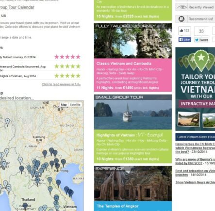 Explore Vietnam guide screenshot