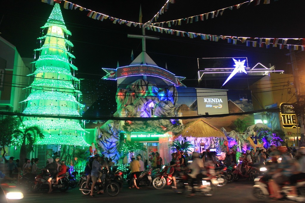 Christmas in Ho Chi Minh City