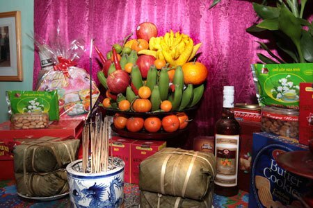 Tet Fruit Offering