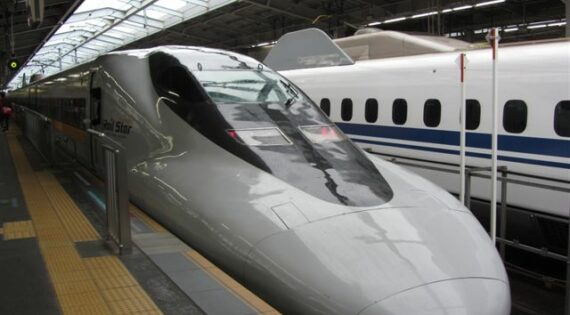 High-speed train in Japan