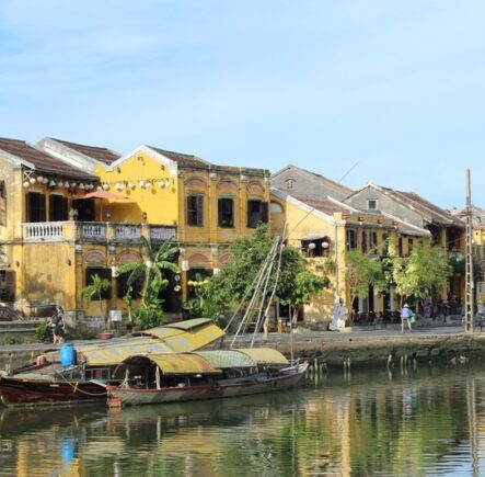 Down by the water in beautiful Hoi An