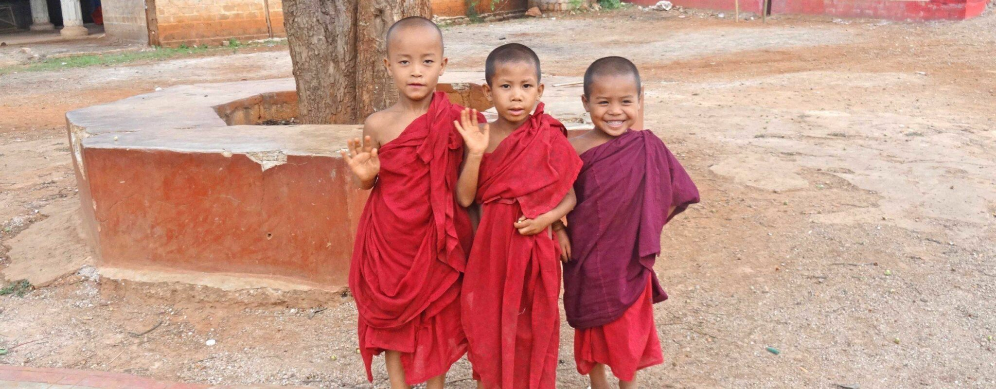 Child monks - A picture book of Burma