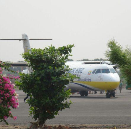 Domestic Flight in Burma