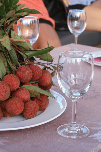 Lychees for lunch