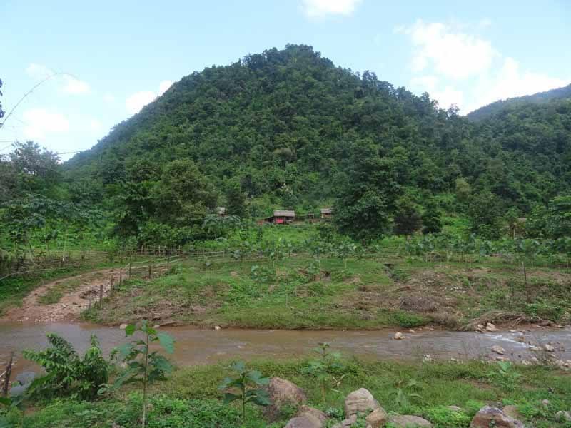 The beautiful surroundings of Kalaw