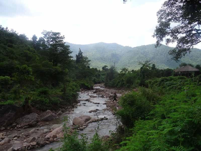 The beautiful surroundings of the Shan Hills