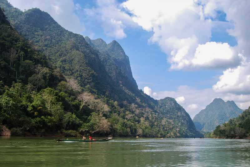 Northern Laos Boating