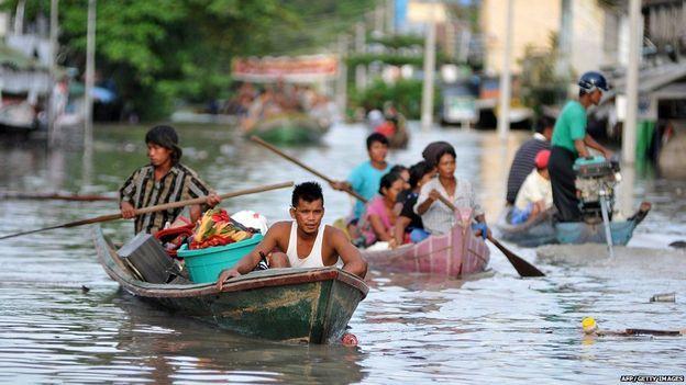 Flooding in Burma