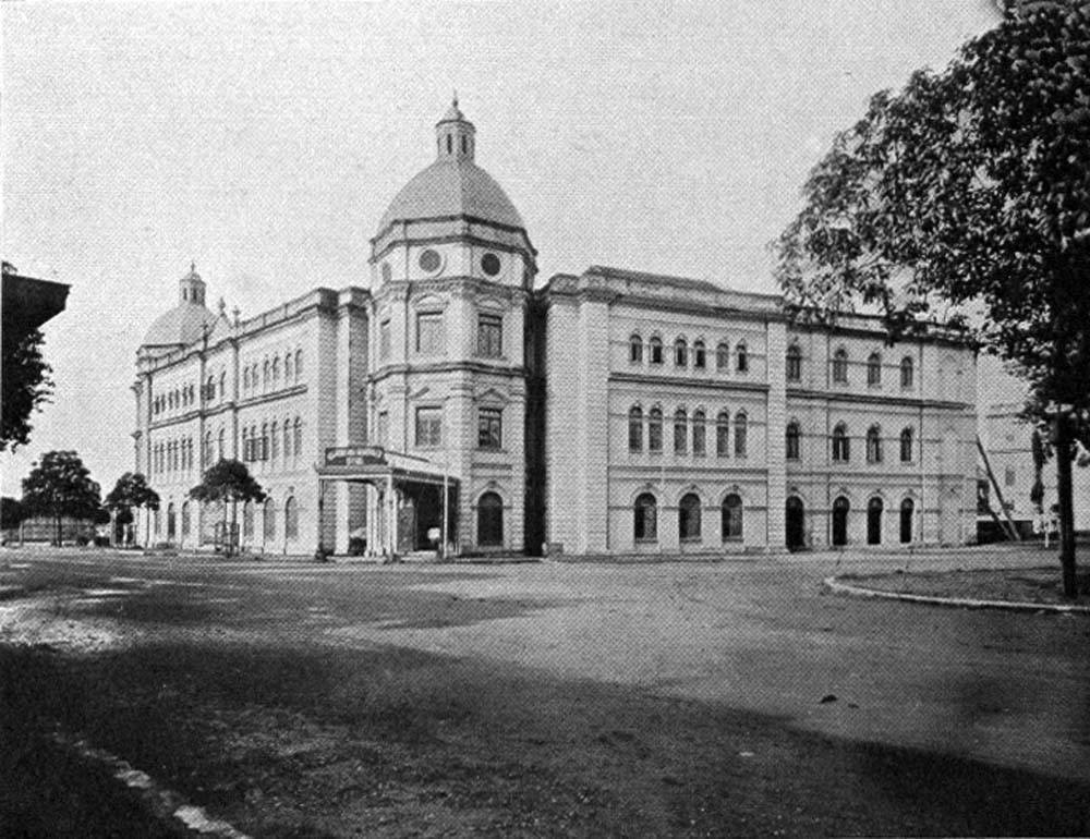 Accountant General's Office, colonial Rangoon.