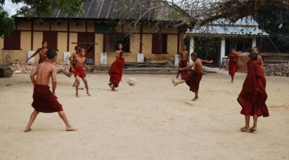 A game of footy