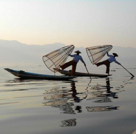 Inle Lake fishermen: a symbol of Burma