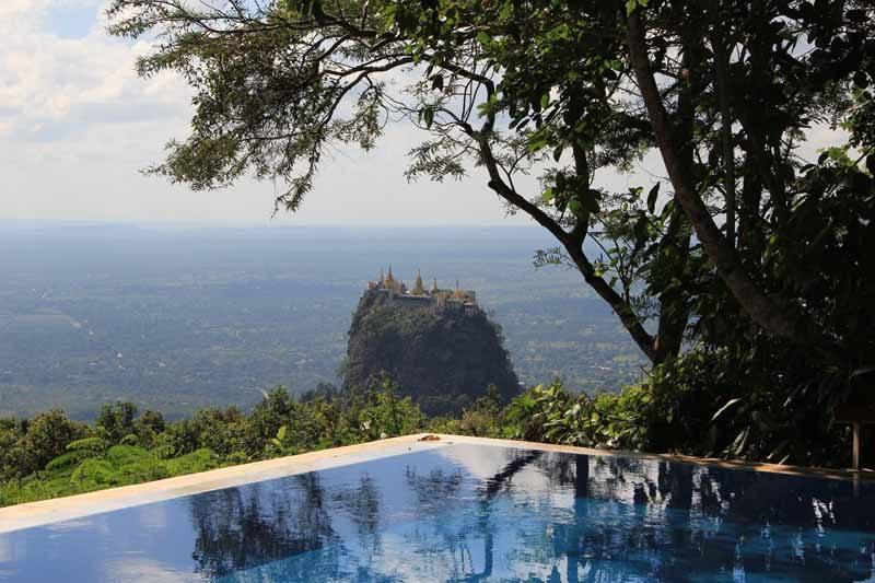 Mount Popa...