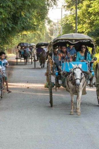 Burma's unusual transportation is just part of its attraction for families