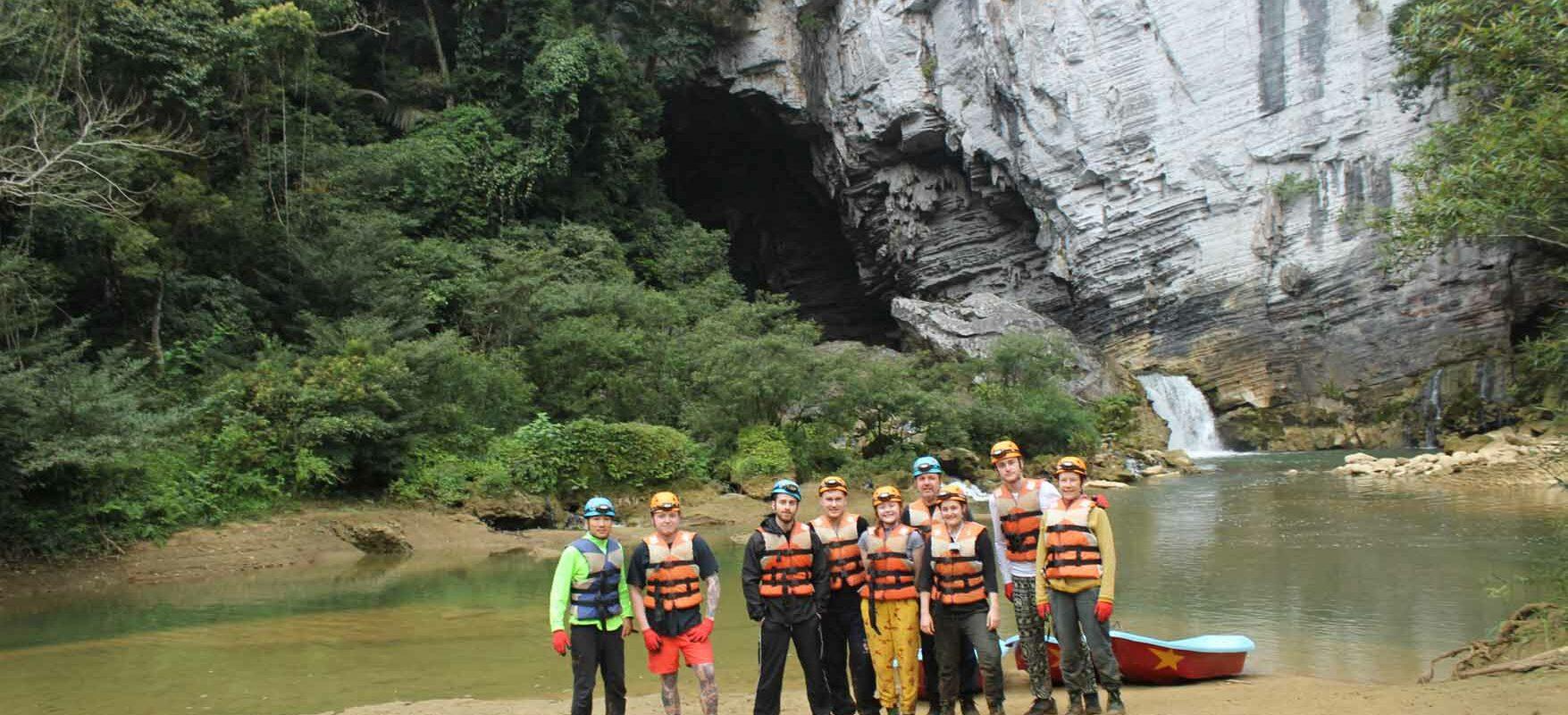 The Cloutmen cave trekking in Phong Nha