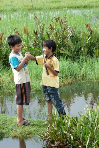 Try your hand at farming in the countryside around Hanoi