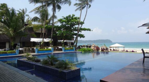 The Amata Resort, one of our favourite family hotels in Ngapali
