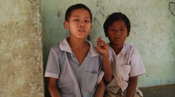 Learn a few words of Burmese to interact with local children