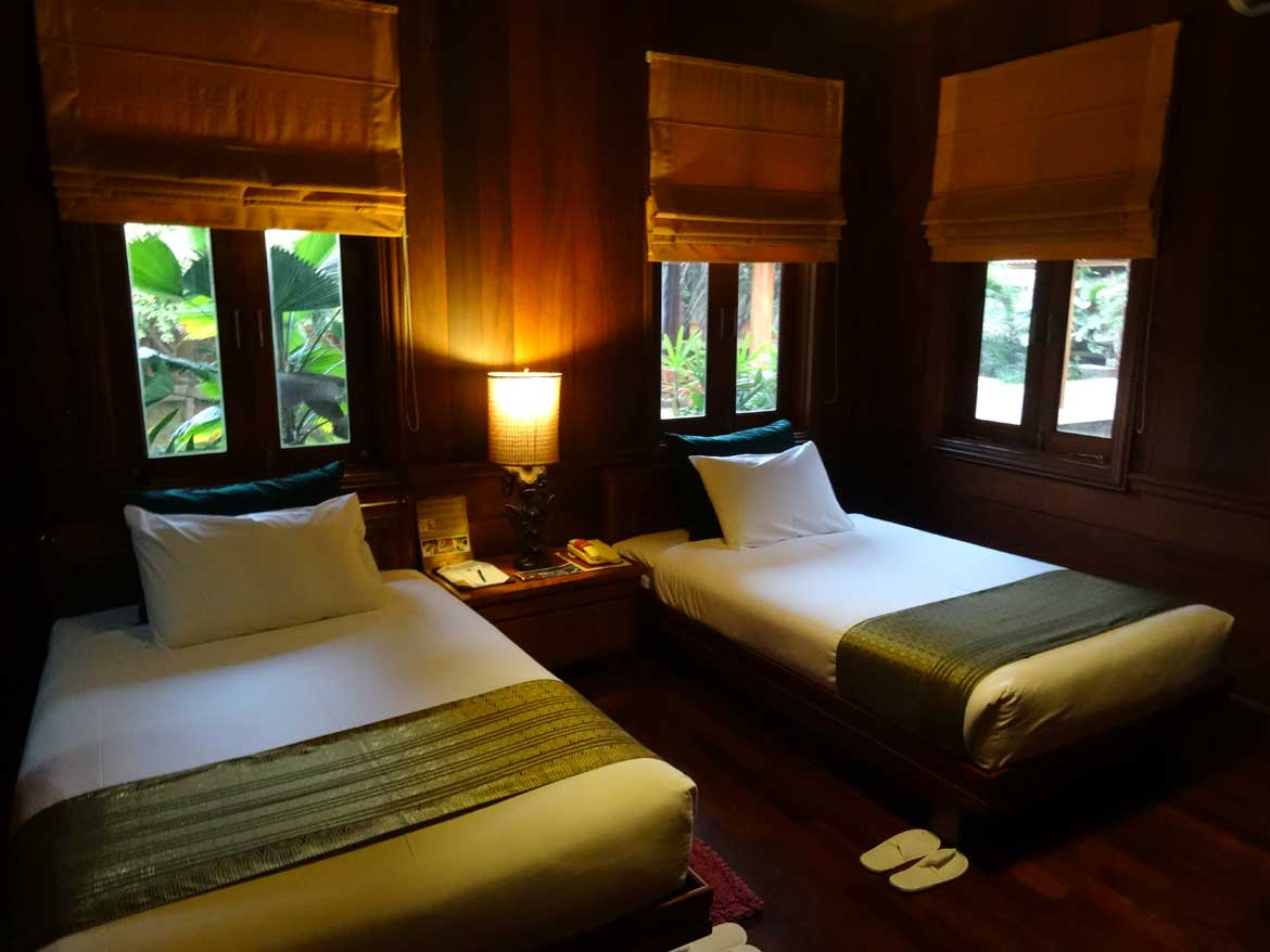 The Rupar Mandalar Resort offers family suites for up to six people in Mandalay