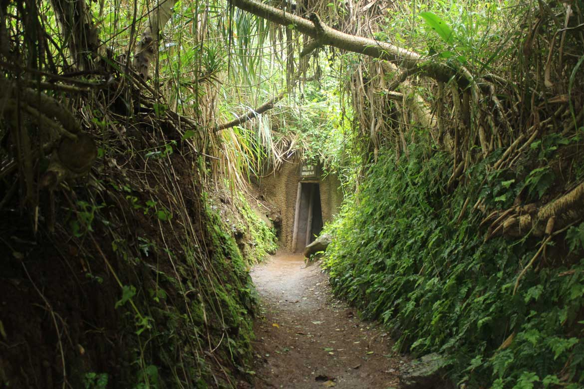 Relive history at the Vinh Moc Tunnels, where Vietnamese villagers sheltered from US bombing campaigns