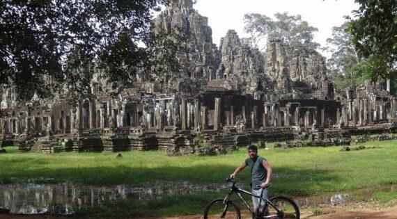 Cycling in Angkor