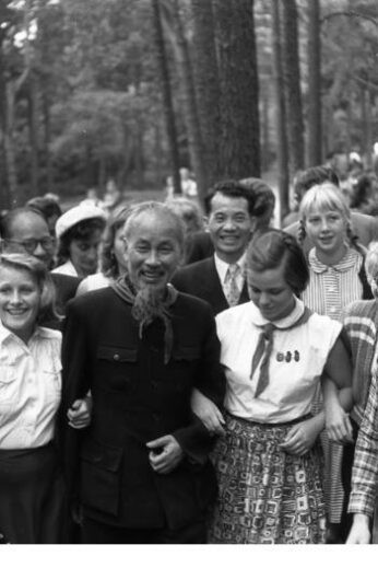 Ho Chi Minh in East Germany