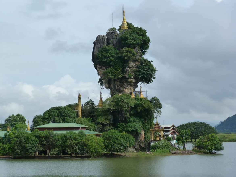 Kyauk Ka Lat Pagoda, near Hpa An