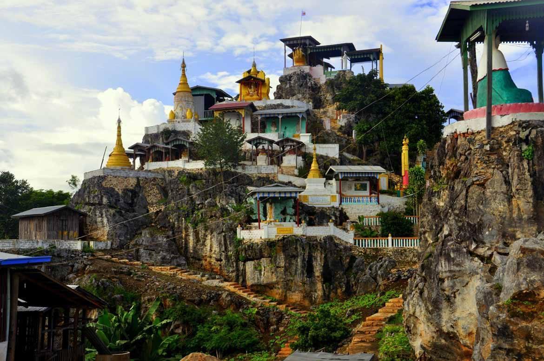 Loikaw's pagoda (© Alex Shaw)