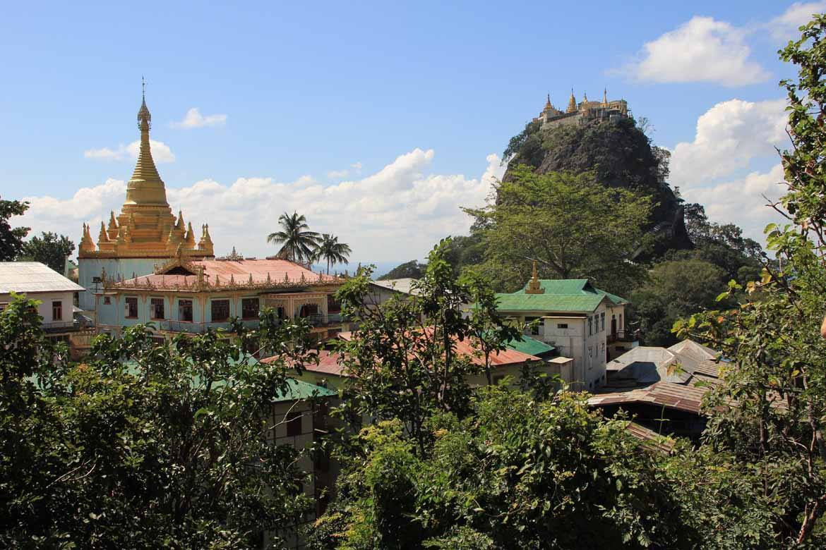 Mount Popa: Burma's home of nat worship