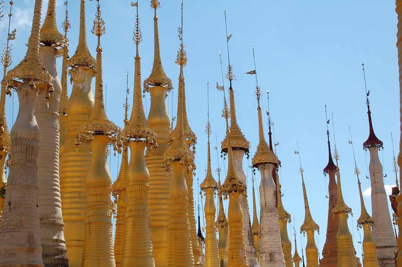 Inthein stupas