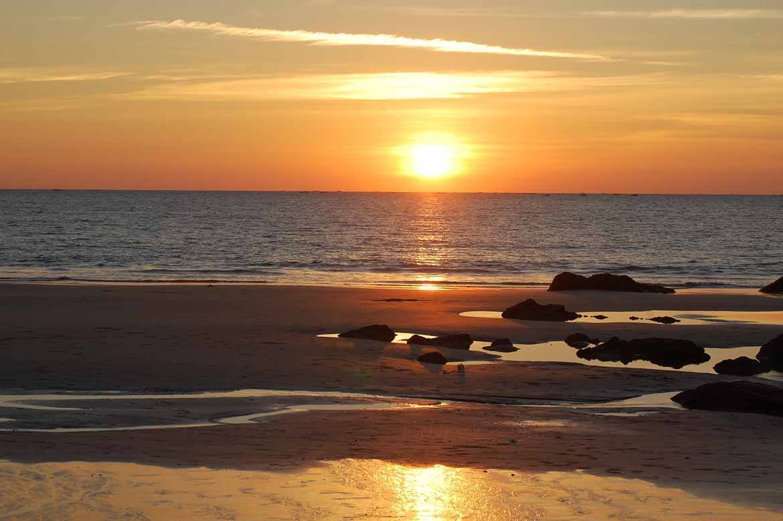 Sunset at Ngapali