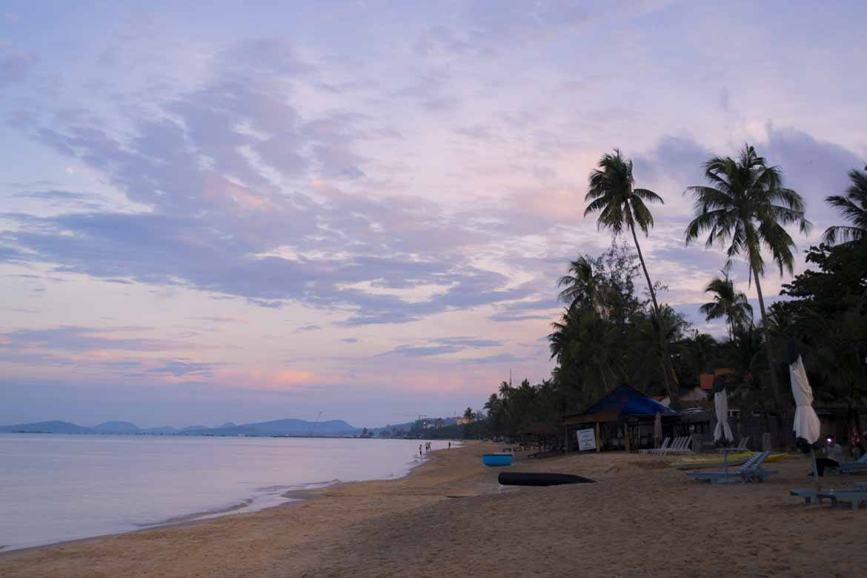 Sunset on Phu Quoc