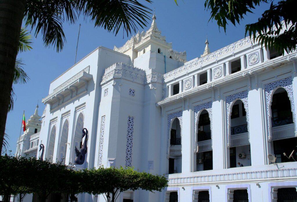 City Hall in Yangon, Burma (Myanmar)