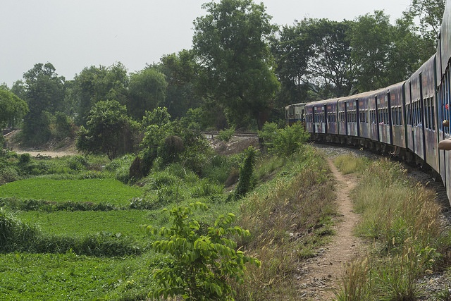 Yangon's circle train, Burma (Myanmar)