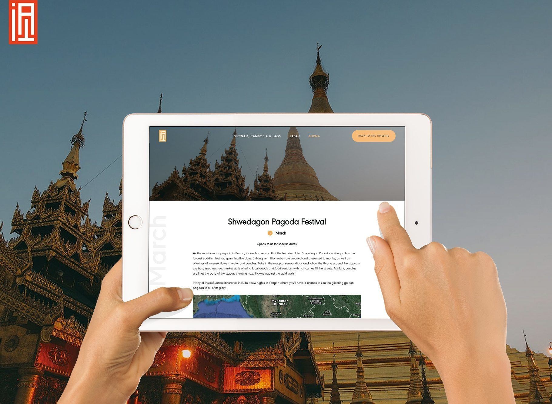 Shwedagon pagoda on the When to travel to Burma (Myanmar) travel website