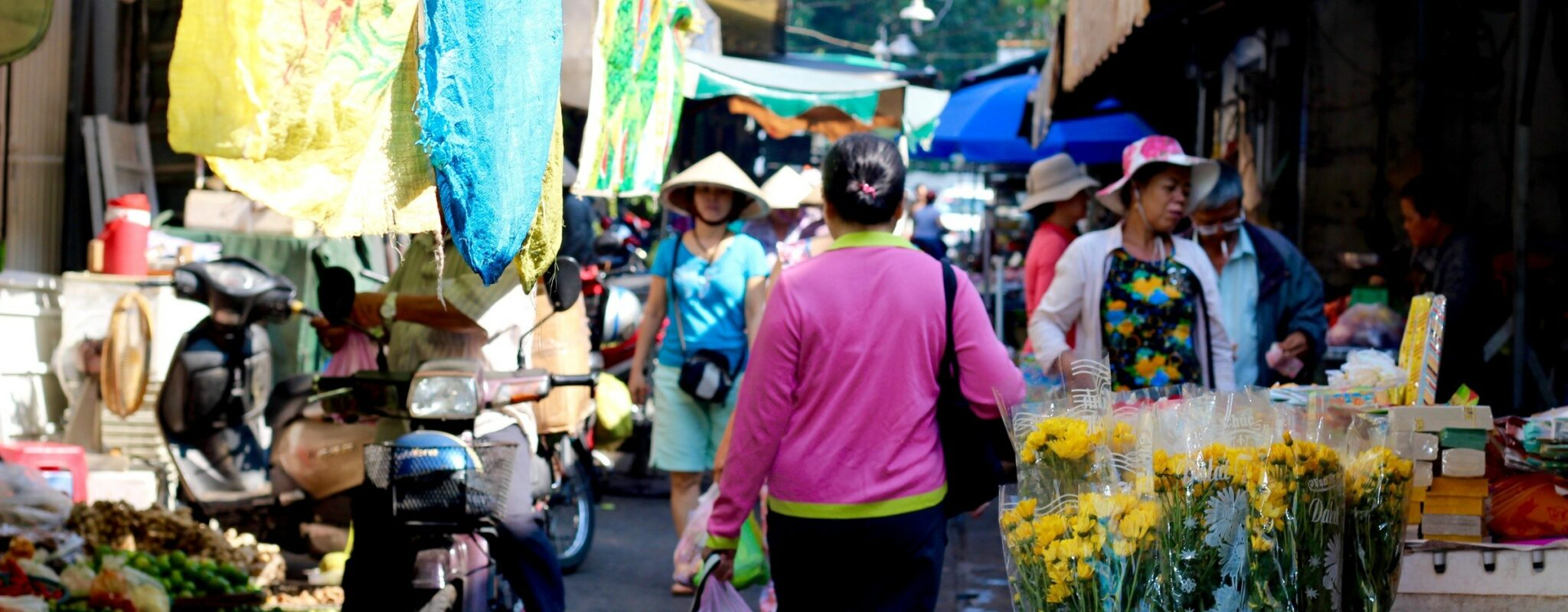 Ho Chi Minh City food market