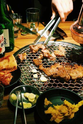 south korean bbq