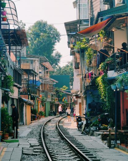 Hanoi's train street