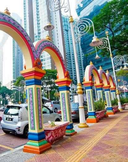Arches in Little India, Kuala Lumpur