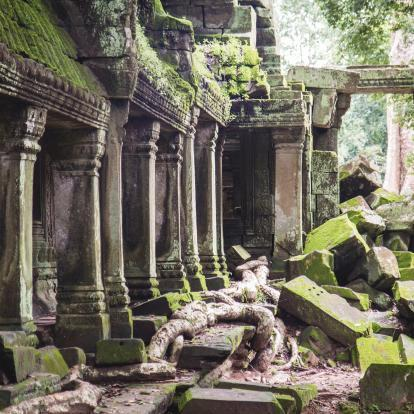 Temple ruins at Banteay Chhmar
