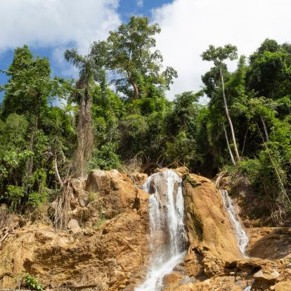 Waterfall in Nong Khiaw