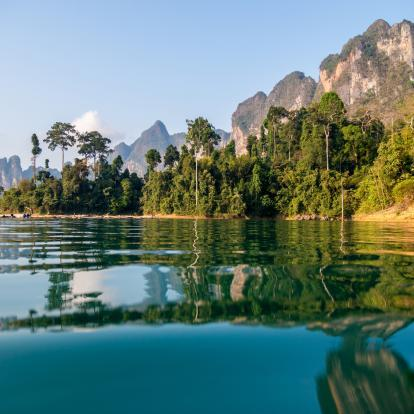 Khao Sok waterfront