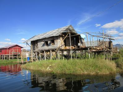 House on Inle Lake