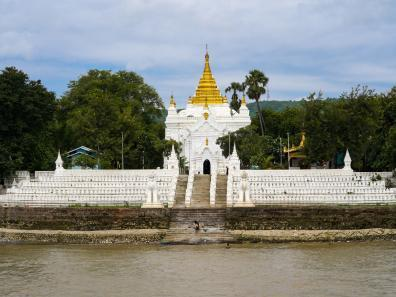 Banks of the Irrawaddy River