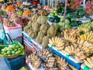 Food market in Cambodia